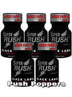 SUPER RUSH BLACK LABEL 5x