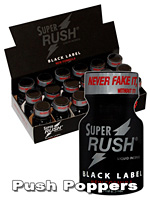 SUPER RUSH BLACK LABEL BOX