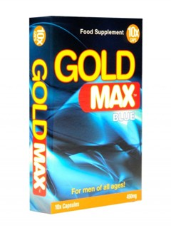GOLD MAX BLUE 10 UNI.